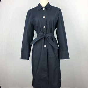 AMANDA SMITH Women's Size 8 Coat Dress Denim